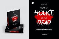 Jacmax - Horror Font Product Image 4