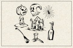 Halloween icon set bundles Product Image 3