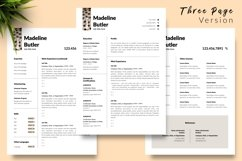Animal Care Resume Template for Word & Pages Madeline Butler Product Image 4