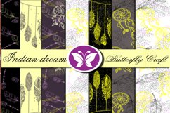 Indian dream digital paper,Dream Catcher Collection Product Image 1