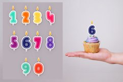 Birthday candles SVG | birthday decorations Product Image 2