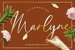 Marlyne Signature Script Product Image 1