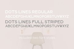 Minimalist pattern collection. Font included. Product Image 6