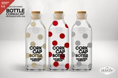 Cork & Cap Bottle Packaging MockUps Product Image 1