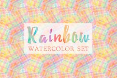 Rainbow watercolor seamless pattern Product Image 3