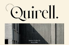 Quirell - elegant display serif Product Image 1