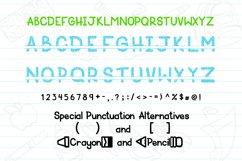 Schoolish Monogram Maker| Back to school font|Free Doodles Product Image 2