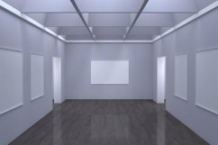 Art Gallery Frames Mockup with different wall Product Image 2
