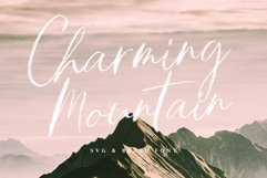 Charming Mountain - SVG Product Image 2