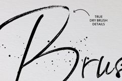BlackSilver Brush Font Product Image 5