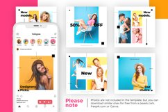 Colorful fashion Instagram 18 Posts Template | CANVA Product Image 7