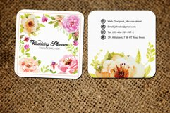 Wedding Decorator Small Business Card Product Image 1