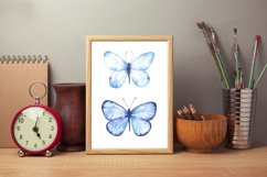 Butterfly Watercolor Clipart PNG Product Image 4