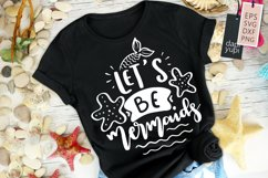 Mermaid Quotes, Let's Be Mermaids Product Image 1