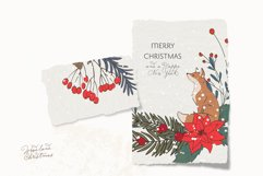 Christmas Woodland Animals Clipart Product Image 2