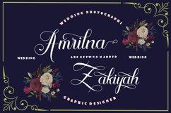 Algendria Modern Script Font Product Image 4
