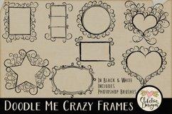 Doodle Me Crazy Frames & Photoshop Brushes Product Image 1