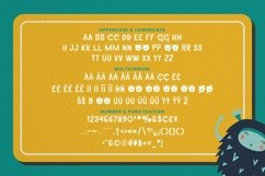 Web Font Holly The Monster Font Product Image 5