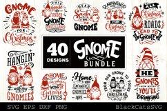 Christmas Gnomes SVG bundle Gnome bundle SVG 40 designs Product Image 5