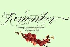 Web Font Remember Product Image 1