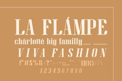 Gan Fall    Serif Condensed Font Product Image 3