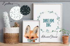 Baby fox clip art set, PNG, PSD Product Image 3