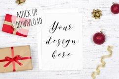 Christmas Card Mockup Bundle Product Image 2