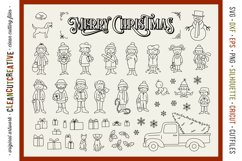 Foil Quill Edition - Cute Christmas Clan - family figures Product Image 3