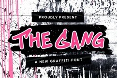Web Font The Gang Font Product Image 1