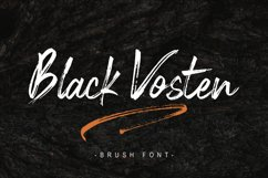 Black Vosten Product Image 1