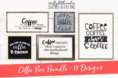 Coffee Bar Design Pack SVG Product Image 1