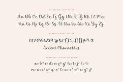 Girlish Lovely Modern Calligraphy Font Product Image 6