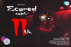 Excream Vanilla Horror Display Font Product Image 4