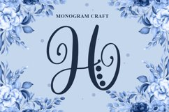Monogram Craft Font Product Image 1