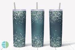 Skinny Tumbler Sublimation Design - Confetti - Customizable Product Image 5
