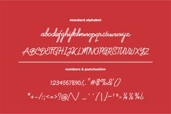 Christmas Hat Font | merry christmas font Product Image 8