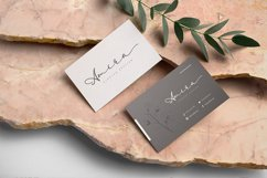 Elegant Script - Lambresia Font Product Image 3