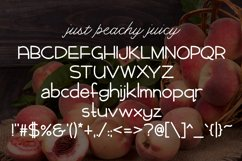 Web Font Just Peachy Product Image 3