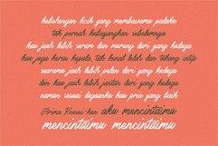 Web Font - Bennington Glow - Brush Lettering Script Product Image 2