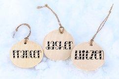 Santa's Reindeer Names Cut File BUNDLE- SVG & PNG Product Image 3