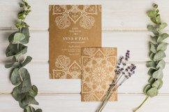 Floral Watercolor & Gold Mandala Product Image 6