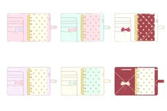 Planner Binder Clipart 2 Product Image 2