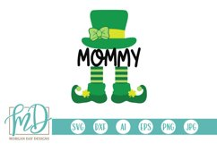 Mommy Leprechaun - St Patrick's Day SVG Product Image 2