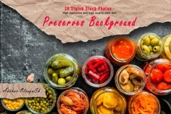 20 Photos Variety of homemade pickled food. Preserves food. Product Image 1