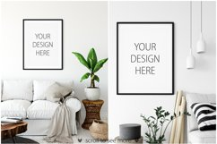 Scandinavian Interior Frames & Walls Mockup Bundle - 2 Product Image 6