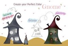 Fantastic Gnome 58 Element Brush Stamp Procreate. Brushes Product Image 4