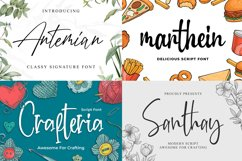 New Year Big Bundle - Crafting Fonts Collection Product Image 2