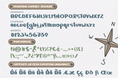 Mountain Journey - a Fun Font Duo Product Image 2