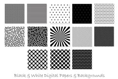 Black and White Pattern Designs Product Image 2