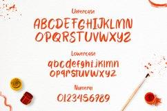 Wayhem - Textured Brush Font Product Image 6